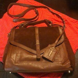 Tory Burch 797 Suede Messenger Bag